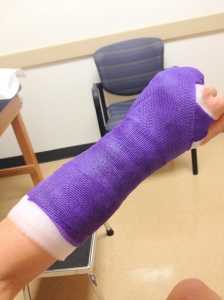 Feeling much better protected and I love the purple!