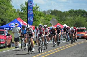 In the feed zone! Photo courtesy of Shama Cycles.